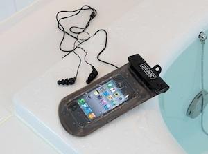 iPhoneの防水カバー